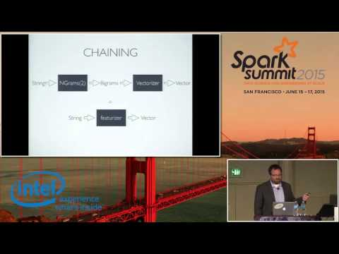 Building Large Scale Machine Learning Applications with Pipelines - Evan Sparks (UC Berkeley AMPLAB)