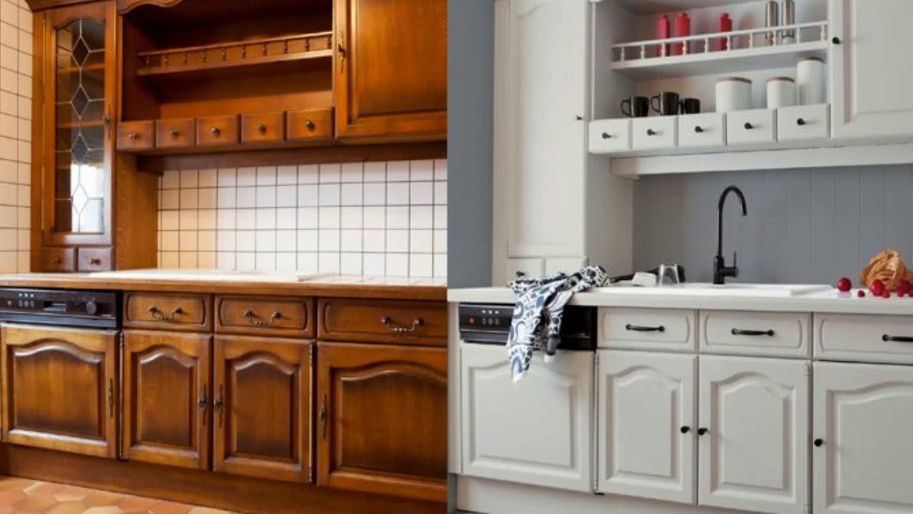 Repeindre Meuble Cuisine Rustique peinture meuble de cuisine