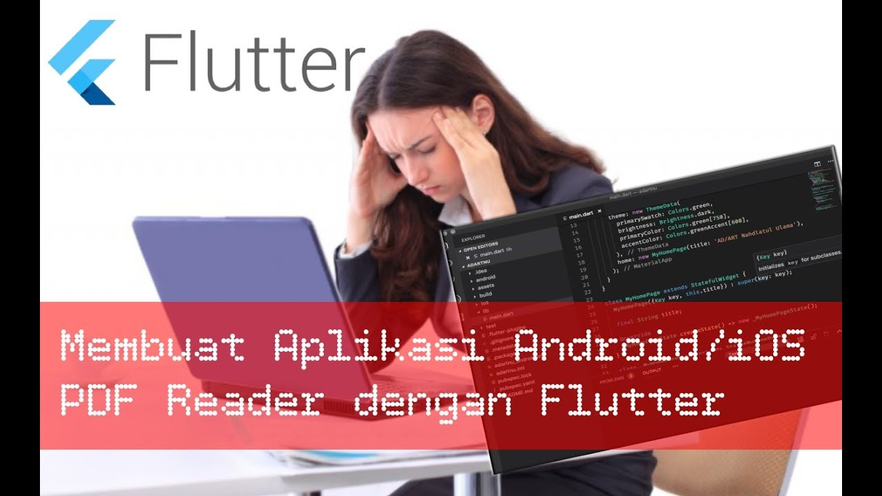 How to Make PDF Reader Apps (Android/iOS) with Flutter | Daily Coding