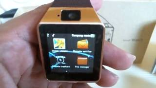 DZ09 Bluetooth Smart watch - Quick review