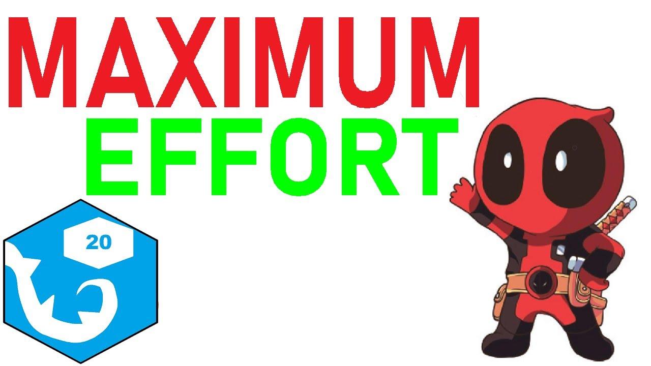 Maximum Effort   r/rpghorrorstories