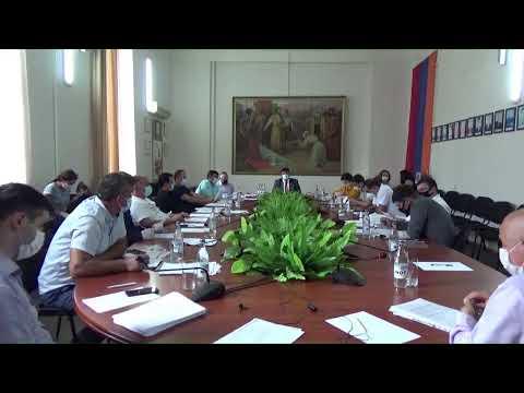 Կապան համայնքի ավագանու արտահերթ նիստ, 30.06.2020