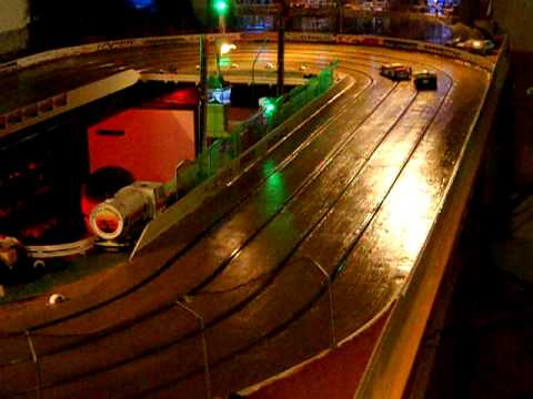 Slot Car Oval Racing Cape Town Bonzai Speedway Dscn0102 Youtube