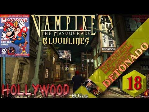 Vampire The Masquerade Bloodlines (PC) - Detonado - Parte 18 - Hollywood (PT-BR)