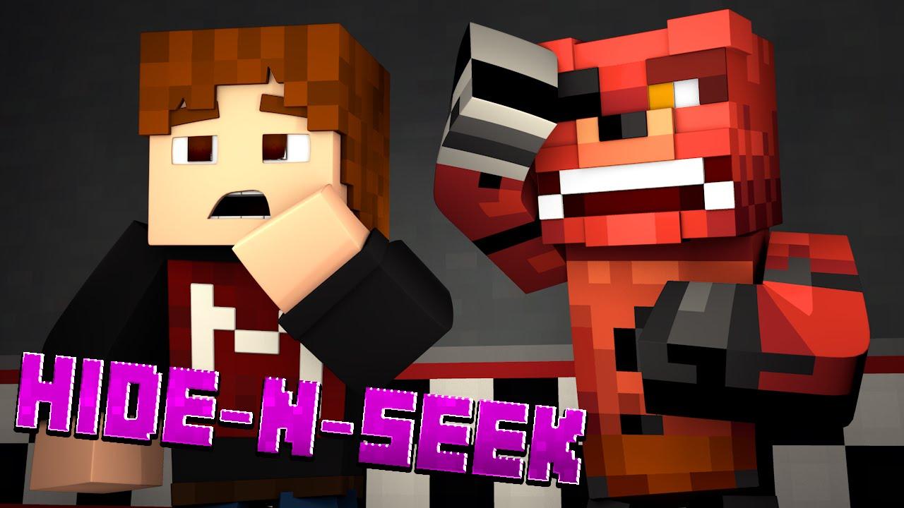 Minecraft FNAF HIDE N SEEK! #6 (Five Nights at Freddy's Minigame)
