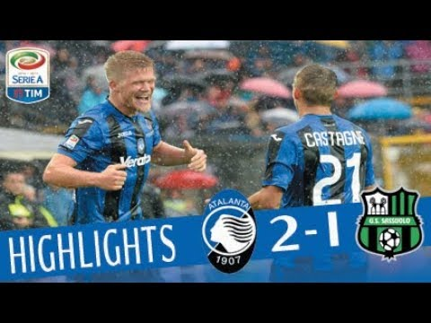Atalanta - Sassuolo - 2-1 - Highlights - Giornata 3 - Serie A TIM 2017/18
