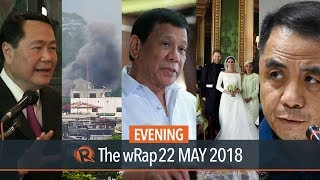 Senate on BBL, Malacanang on Marawi rehab, Carpio and Del Rosario on Chinese bombers | Evening wRap