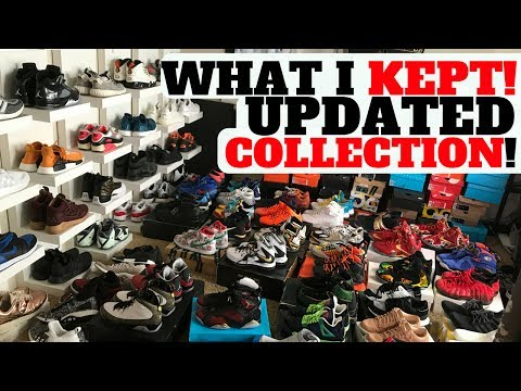 WHAT SNEAKERS I KEPT AFTER SELLING SOME OF MY SNEAKER COLLECTION!!
