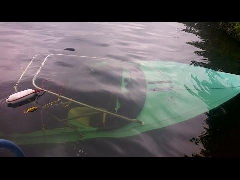 Moomba Boat Recovery. Shawnigan Lake BC