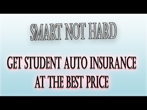 Get Student Auto Insurance at the Best Price