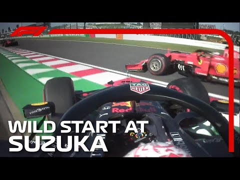 2019 Japanese Grand Prix: Wild Start At Suzuka