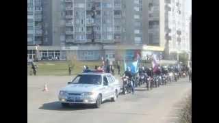 Саянск, Иркутская область. День Победы 9 мая 2014