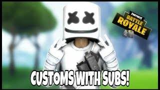 Fortnite Custom Games SQUADS || Code is PICKLER3X || Na East || 10 Second stream delay