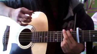 How to Play You're Beautiful By James Blunt On Acoustic Guitar (Part 2 - Verse & Chorus) (easy)