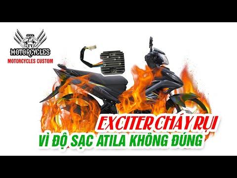 Exciter Lên Sạc Atila Không Đúng Để Lại Hậu Qủa Nghiêm Trọng | Motorcycles TV
