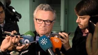 Despedida de Manuel Domínguez Platas tras hacerse público que abandona el Betis