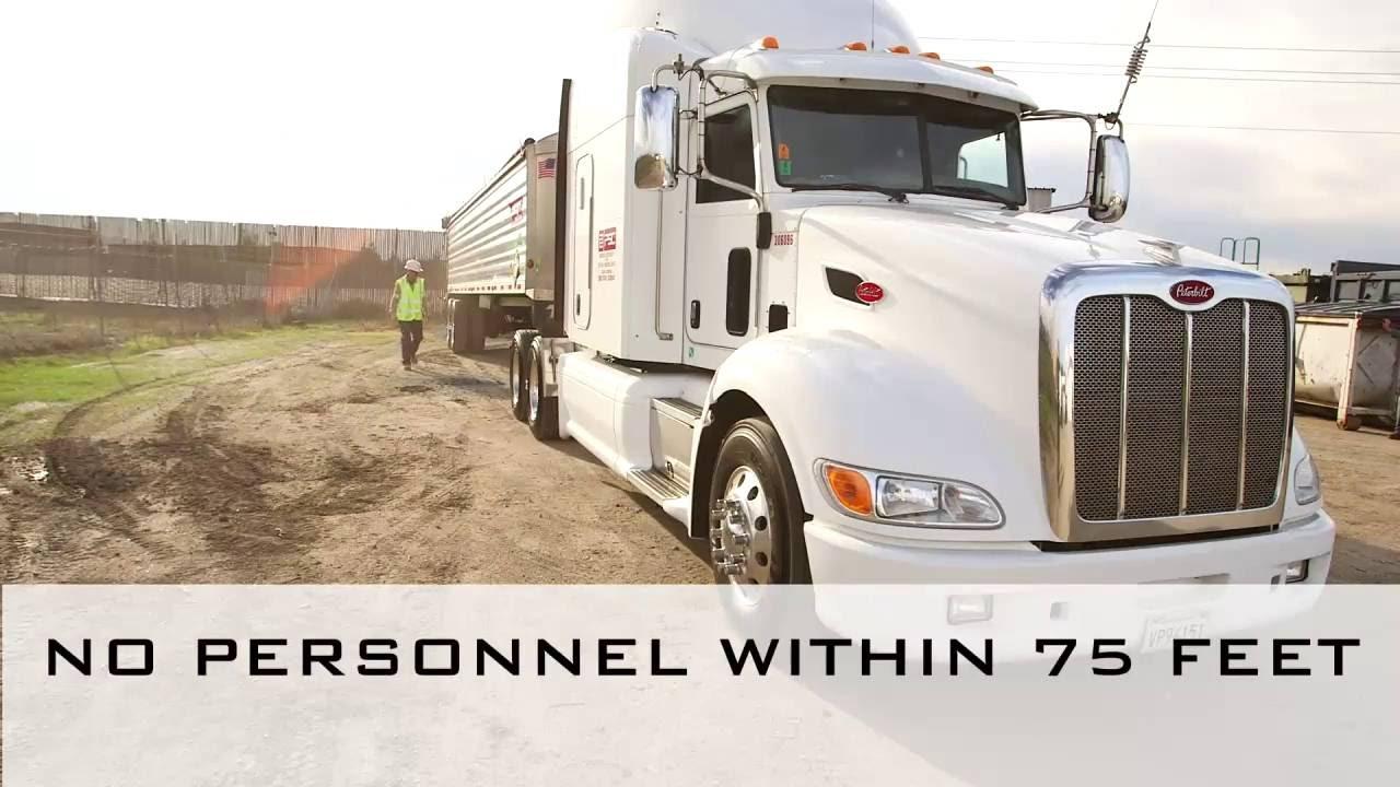 End Dump Truck >> End Dump Training Video Youtube