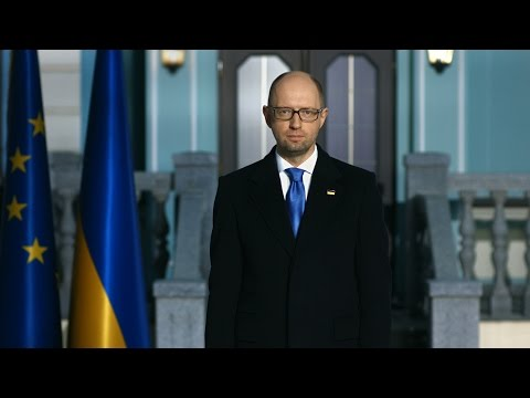 Weekly Address of the Prime Minister of Ukraine Arseniy Yatsenyuk