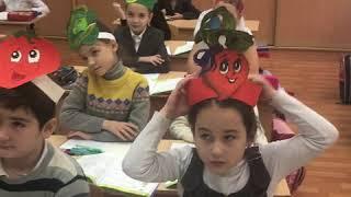 Фрагмент урока русского языка во 2 А классе