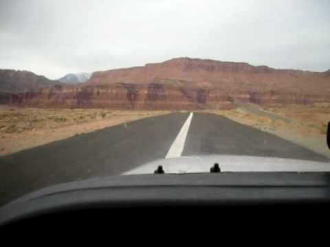 Landing Hite Utah