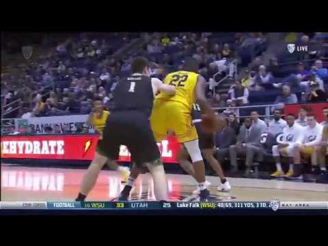 Cal Basketball highlights from November 12, 2017