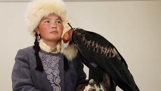 Meet Aisholpan, the 15 year old star of 'The Eagle Huntress'