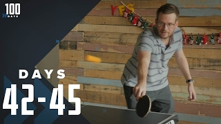 Does Ping Pong Count as Exercise?: Days 42-45