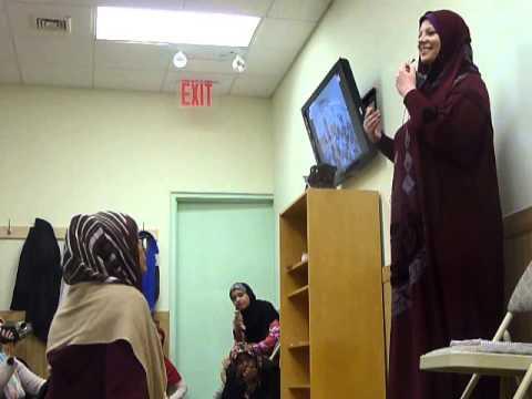 Lauren Booth at Bosnian Herzegovinian Islamic Center New York - part 1