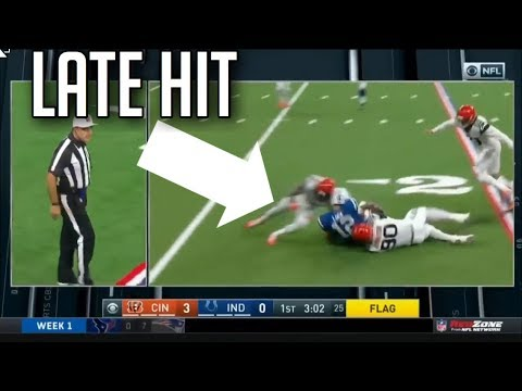 11be360b633a WATCH: Was Eric Reid's Hit on Roethlisberger Worthy of Ejection | Heavy.com