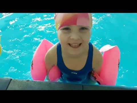 Дворец спорта Прибой (Таганрог). Тренировка по плаванию, для детей.