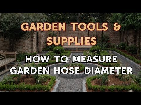how to measure garden hose diameter - Garden Hose Diameter