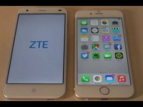 zte v6 y iphone 6 but not