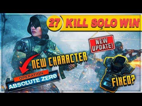 CoD Blackout | INSANE 27 Kill Solo Win NEW UPDATE!