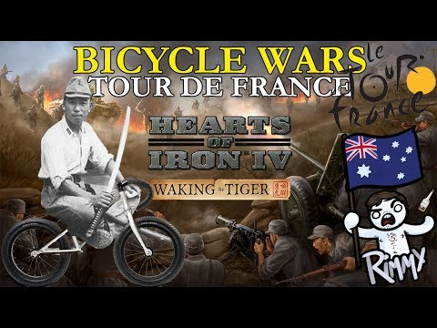 HOI4 Waking the Tiger - Tour De France (Bicycle Divisions)