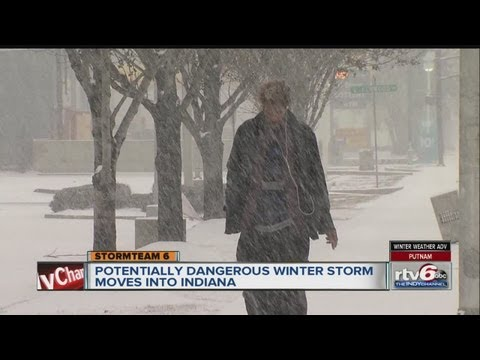 Indiana Braces For Winter Weather Wallop