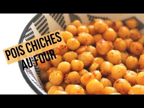 Recette vidéo : Pois chiches au four