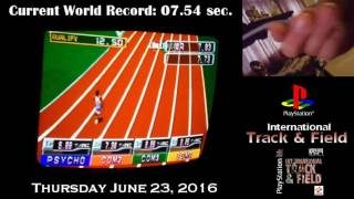 International Track and Field 100 Meter Dash World Record
