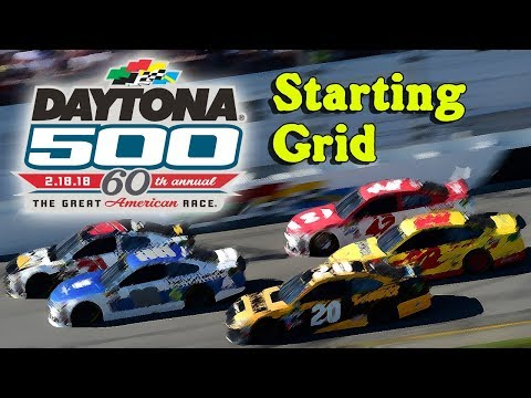 2018 Daytona 500 Starting Grid (BSGN)