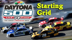 2018 Daytona 500 Starting Grid (BSGN)