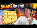 MAX WIN ON SNAKE ARENA!?