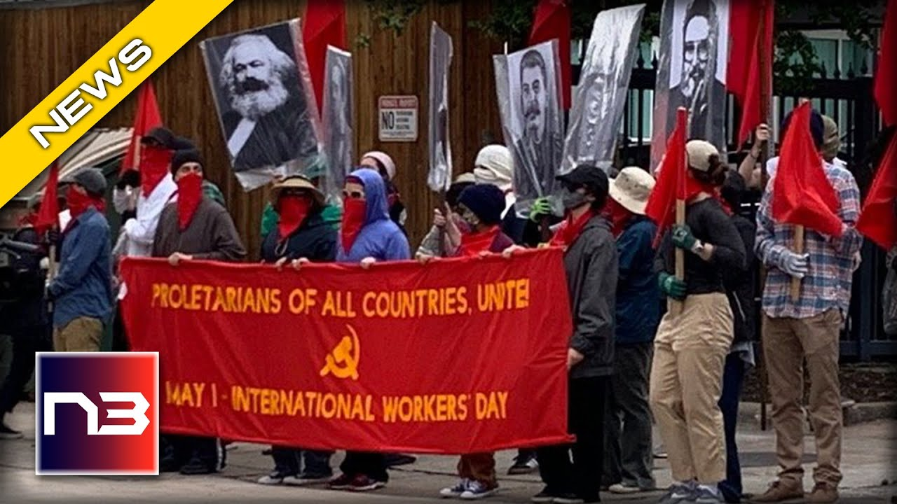 Commies March For Mass Murderers on May Day - Their Chants will TERRIFY You