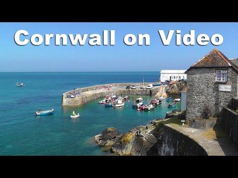 Cornwall on Video - Coverack, Porthleven, Kynance Cove, Gunwalloe, Lizard Point, Cadgwith Cove