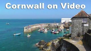 cornwall on video coverack porthleven kynance cove gunwalloe lizard point cadgwith cove