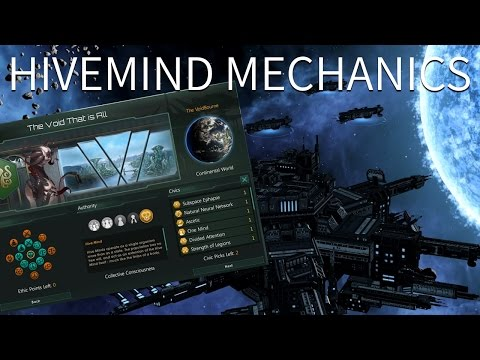 Stellaris - Hivemind Mechanics (The One is All and the All are One)
