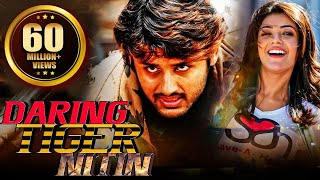Repeat youtube video Daring Tiger Nitin (2016) Full Hindi Dubbed Movie | Nitin movies hindi dubbed, Kajal Agarwal