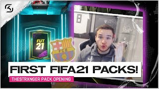 THE STRXNGER PACK OPENS FIRST FIFA21 PACKS! | FIFA20