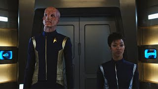Star Trek: Discovery - Tension In The Lift