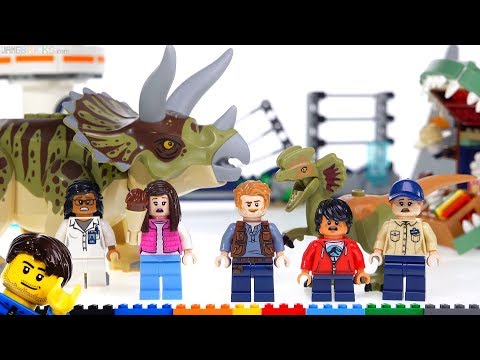 lego-jurassic-world-triceratops-rampage-&-dilophosaurus-on-the-loose!-75937-+-75934-reviews