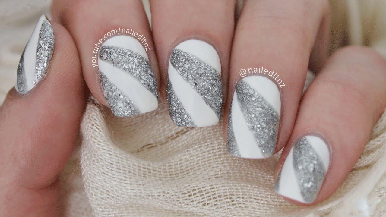 easy prom years nail art