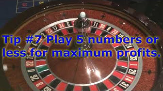 10 Tips to help you win at Roulette. Improve your chances!